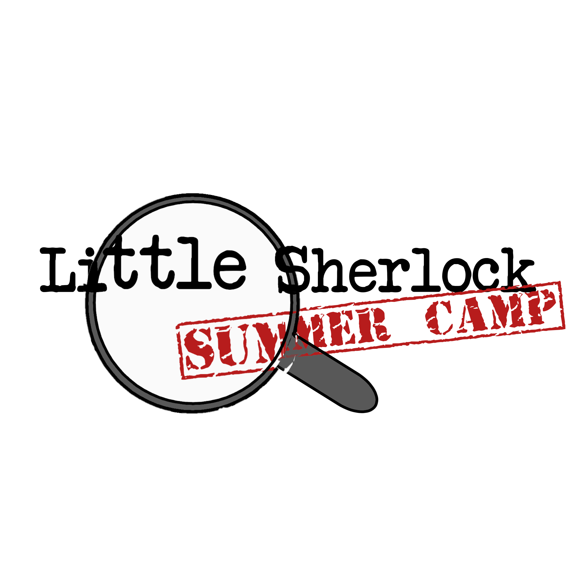 Little Sherlock Forensic Science Summer Camp graphic