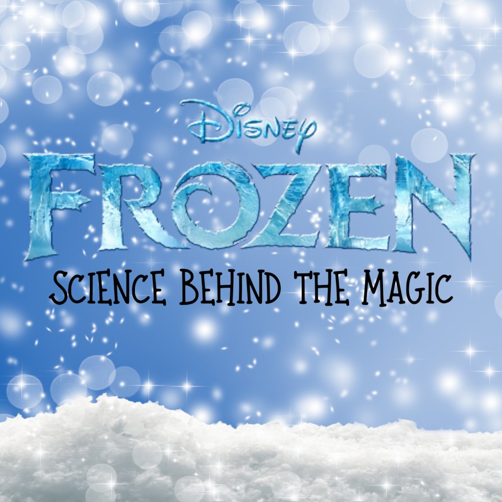 Frozen: Science Behind the Magic Summer Camp graphic