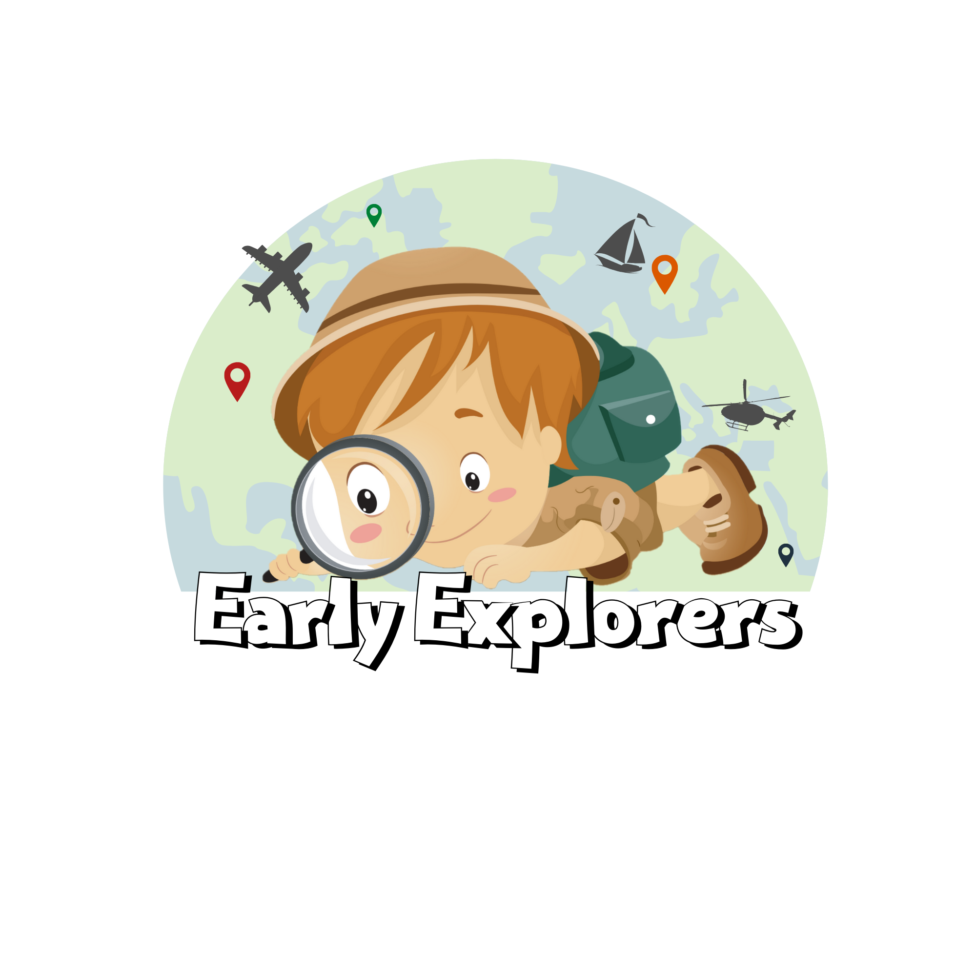 Early Explorers graphic for Pre-K Summer Camp