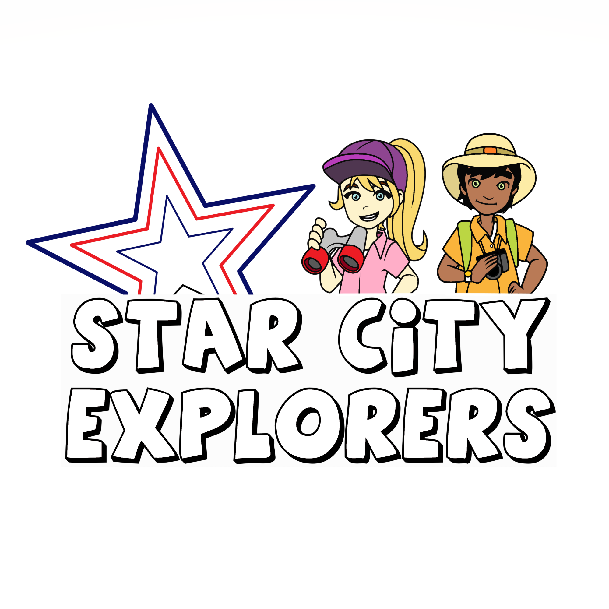 Star City Explorers graphic (colored)